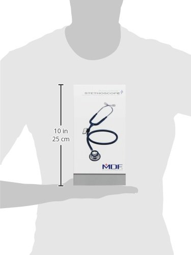 MDF MDF747XP Acoustica luxuriöses, leichtes Zweikopf-Stethoskop - Rosa