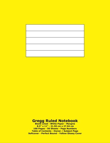 gregg-ruled-notebook-blank-lined-white-paper-85-x-11-2159-cm-x-2794-cm-100-pages-50-sheets-page-numb