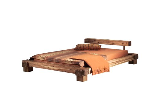 Modular cal160.41 Bett Cali / 160 x 200 cm/Akazie massiv, natur gewachst