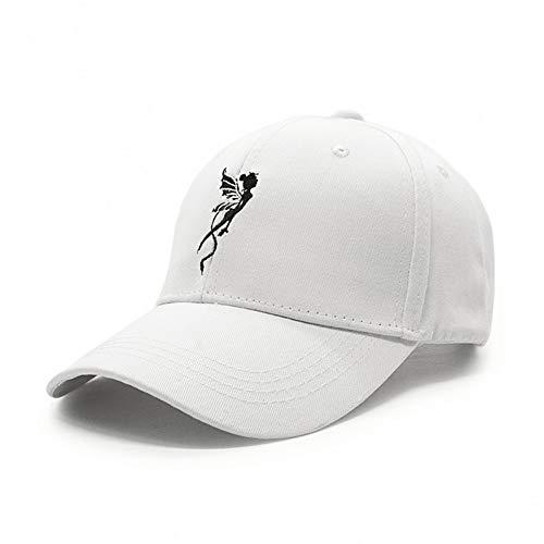 WBSNA Engel Baseballmütze Frauen Mädchen Flügel Stickerei Hut Weibliche Straße Freizeit Hip Hop Caps,02 - Frauen Engel-hut Für