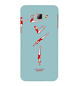 EPICCASE Swimmer Mobile Back Case Cover For Samsung Galaxy A7 (Designer Case)