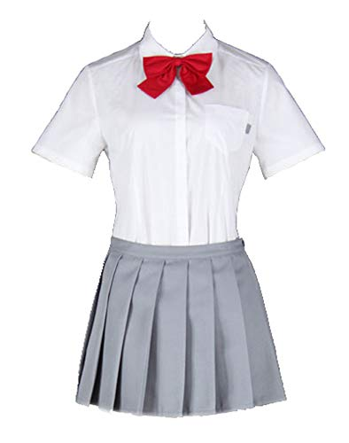 Chong Seng CHIUS Cosplay Costume Summer Uniform for Inoue Orihime Karakura High School F