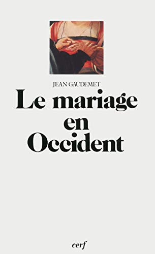 Le mariage en Occident PDF Books