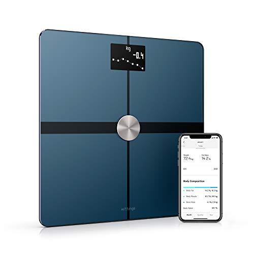 De Withings Body+ Smart personenweegschaal maakt gebruik van gepatenteerde Position Control -technologie om de nauwkeurigste lichaamssamenstelling te berekenen (gewicht, lichaamsvet en waterpercentage, plus spier- en botmassa). Withings Body+ biedt o...