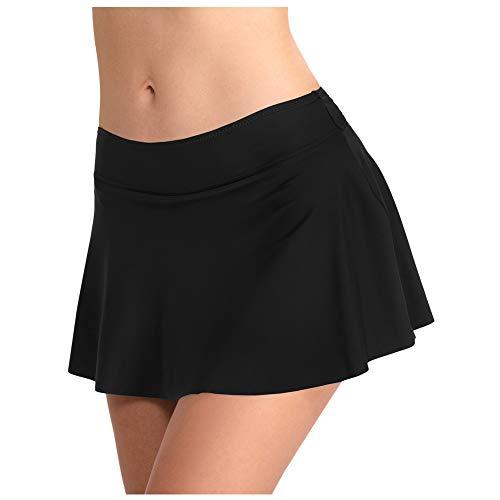 Deylaying Damen Bikini Swim Rock - A-Line Plus Größe Bottom Cover Up mit Slip Tankini Beachwear Badeanzug
