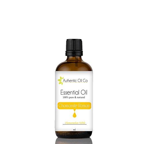 Authentic Oil Co Huile essentielle biologique de camomille romaine, 10 ml