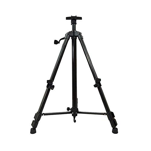 ZXRRSHOP Folding Easel, Portable Easels for Picture And Poster, Adjustable 50-150 Cm with Storage Bag,for Artists Kids And Adults,Black