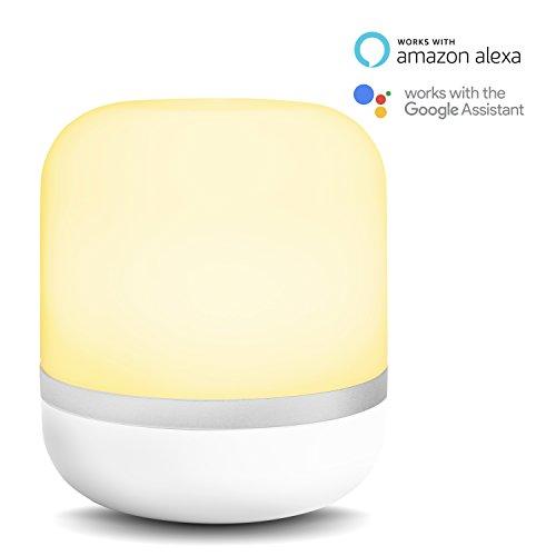 Lámpara de mesa Hero con LED inteligente y conexión WiFi