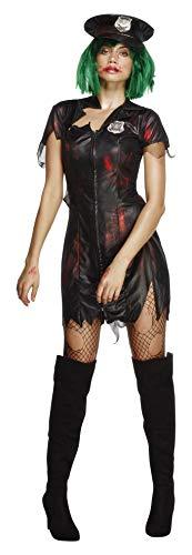 Cop Kostüm, Kleid und Mütze, Größe: S, 23214 ()