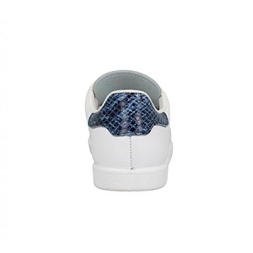 VICTORIA 12541 Enfant Blanc Azul Blanc Azul