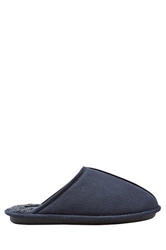 next Pantoufles à Couture Centrale Homme Regular Bleu Marine
