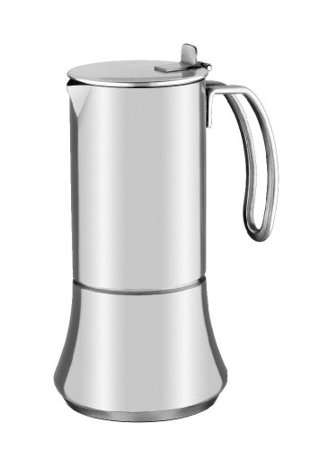 BRA New Bahía - Coffee maker, 6 cups, 18/10 stainless steel