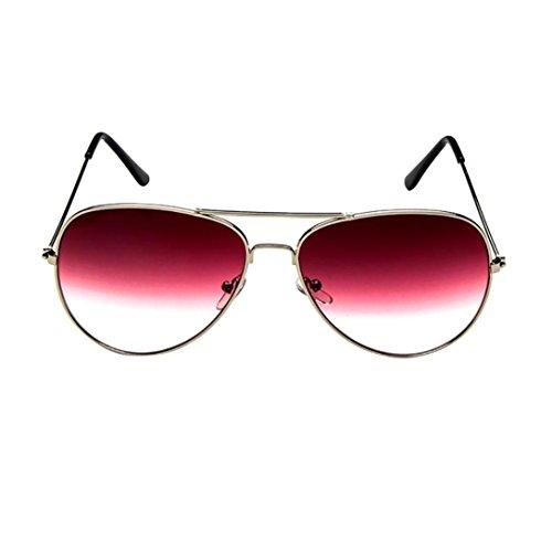 AIMEE7 Lunettes de Soleil Unisexe Pas cher Lunettes de Soleil Homme Vintage Eyewear Chic Lunettes de Soleil Aviateur Femme Rétro Sunglasses Polarisées 2018 Mode Clout Goggles (C)
