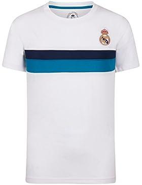 Real Madrid Camiseta Oficial para Entrenamiento - para Niño - Poliéster