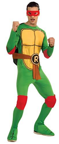 Ninja Turtles Kostüm Teenage Männer Mutant - Rubies-Kostüm, Männer, I-887250XL, XL