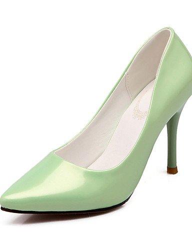 GS~LY Da donna-Tacchi-Ufficio e lavoro / Casual-Tacchi-A stiletto-PU (Poliuretano)-Verde / Rosa / Bianco green-us10.5 / eu42 / uk8.5 / cn43