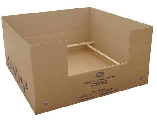 Petnap 36″ x 36″ Disposable Whelping Box