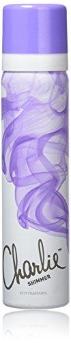Revlon Charlie Shimmer Déodorant Spray Vaporisateur 75 ml