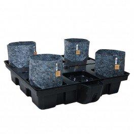 Systeme hydroponique Big Pot Pouch Hydro 100-4 - Platinium Hydroponics- hydro-terre-coco
