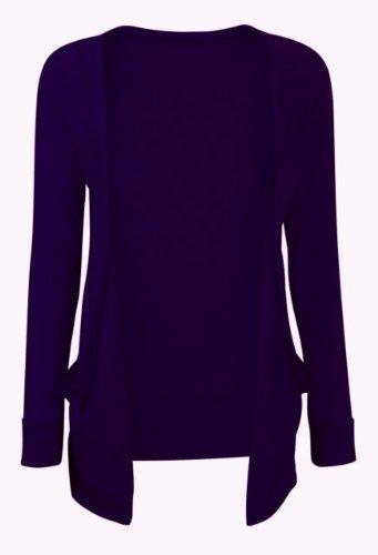 Gilet à poches pour femme Violet - Violet