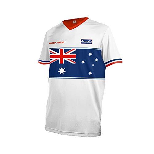 Uglyfrog Deutschland Nationalflagge Designs Element Jersey RACEWEAR Herren Kurzarm/Langarm Downhill Jersey Rennrad Radtrikot Moto Cross Motorrad Trikot DEHerDownSW02 -