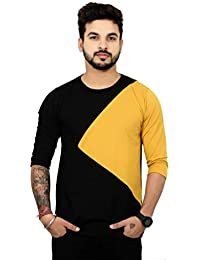 794e3bef 3/4 Sleeve Men's T-Shirts: Buy 3/4 Sleeve Men's T-Shirts online at ...