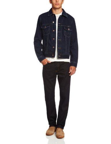 Wrangler Herren Jeans Jake W41001705 AUTH WESTERN JACKET, Gr. XX-Large, Blau (Jeans Western)