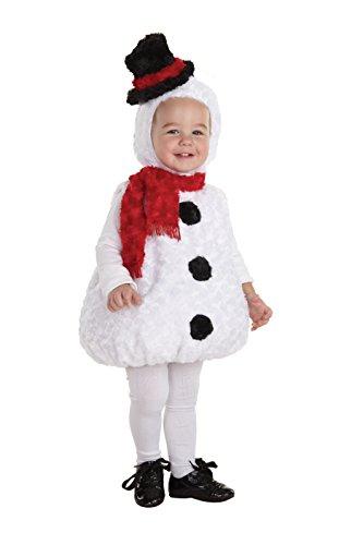 Underwraps - weihnachtliches Kinder Schneemann Kostüm - Größe: -