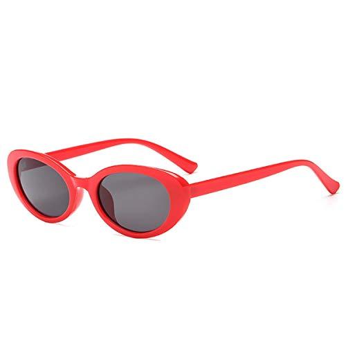 LOUZHENI Schutzbrillen Kurt Cobain Sonnenbrillen Candy Color Retro ()