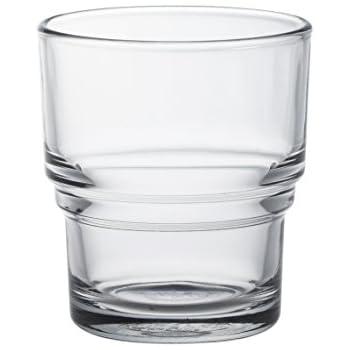 DURALEX 1009AC04 Boîte de 4 Gobelets Bistro Verre Transparent 21 cl