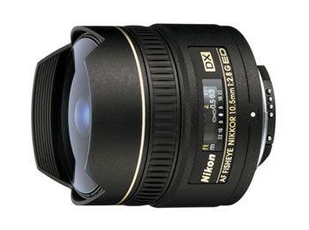 Nikon Af Dx Fisheye 10.5Mm F2.8 If-Ed