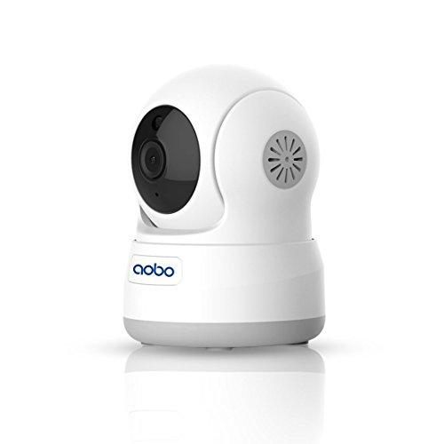 WLAN WIFI Kamera AOBO 720P Wireless IP Kamera heim überwachungskamera die bewegungserkennung alarm 2 Weg Audio IR Nachtsicht Nanny Baby Überwachung für Smartphone/PC Mini Webcam Sicherheitskamera