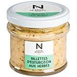 Caviar De Neuvic - Rillettes D'Esturgeon Aux Herbes - 90 G