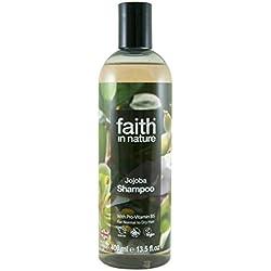 Faith in Nature - Shampoo Naturale al 100% Con Jojoba Per tutti I Tipi di Capelli - Per Lavaggi Frequenti - Senza Parabeni - Vegano