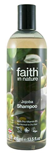 Faith In Nature Jojoba Nourishing Shampoo For Normal To Dry Hair 400ml