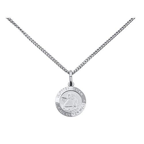 MaMeMi Collection Taufkettchen Gottes Segen - Taufkette mit Silberanhänger