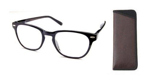 Boomer Eyeware Die Panorama - Qualität Bifocal Lesebrille - Lesebrille Sie können tragen die ganze Zeit!, 1 1,25 Schwarz