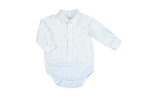 BabyVip - Body para niño, Estilo Abotonado, 100% algodón, Tejido Acanalado -...