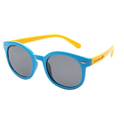Zhhlaixing safety material colorful occhiali trend kids love protect eyes glasses polarized sunglasses
