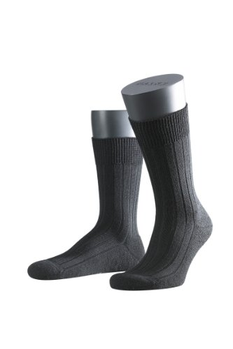 FALKE Herren Socken 14402 Teppich im Schuh SO, Gr. 41/42 ,Schwarz (black 3000 (Online Herren Schuhe)