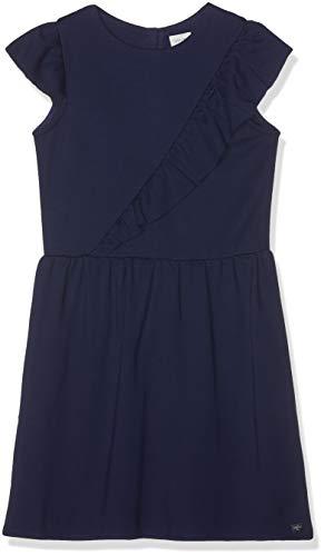 Carrément Beau Mädchen Robe Kleid, Blau (Indigo Blue Beige 85t), 8 Jahre (Herstellergröße: 08A) (Kleid Blau Mädchen Belle)