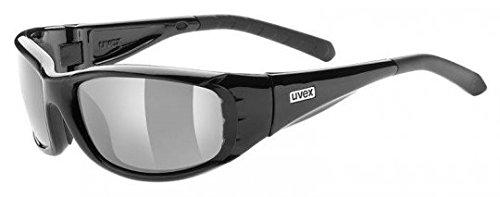 Uvex Sonnenbrille forceflex pola black polavision smoke S3