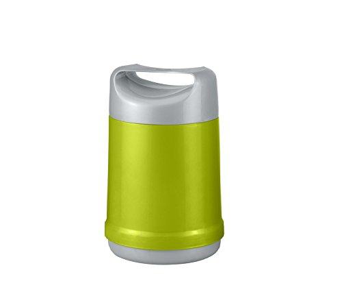 Isolier Speisegefäß 1,2 Liter mit Portionseinsatz Thermobehälter Grün Material spannungsfrei Foodbehälter stossfest entsprechend