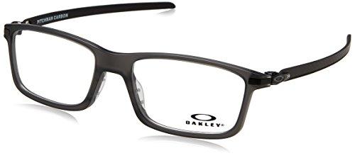 Oakley - PITCHMAN CARBON OX 8092, Rechteckig, Propionat, Herrenbrillen, SATIN GREY SMOKE(8092-02), 55/18/138