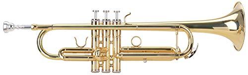 Classic Cantabile TR-30L - Tromba in Si, campana in acciaio (123 mm), bocchino in ottone, valvole in argento