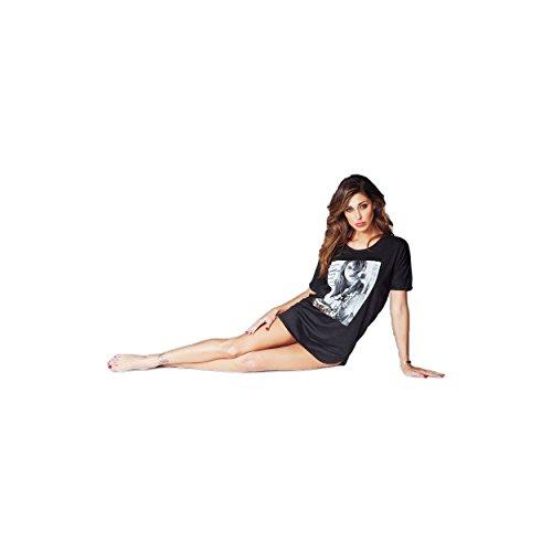 JADEA - Chemise de nuit - Femme Noir