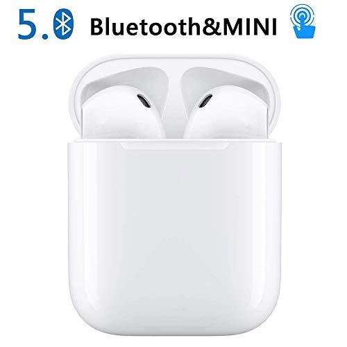 Cuffie Senza Fili Auricolari Bluetooth Cuffie con Riduzione Del Rumore Audio Stereo Auricolari In-Ear Cuffie Sportive Compatibili...
