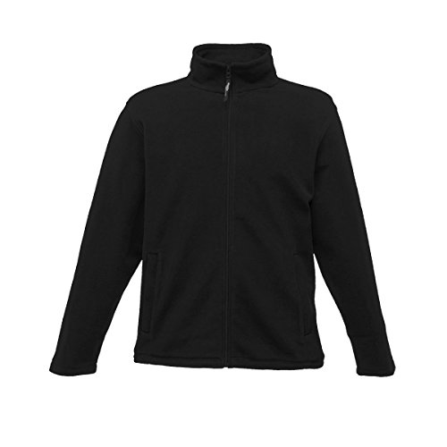Regatta Micro Full Zip Fleece, Black, S Grau