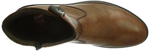 Rieker Z1950-24, Boots femme Marron (Muskat/Muskat/24)
