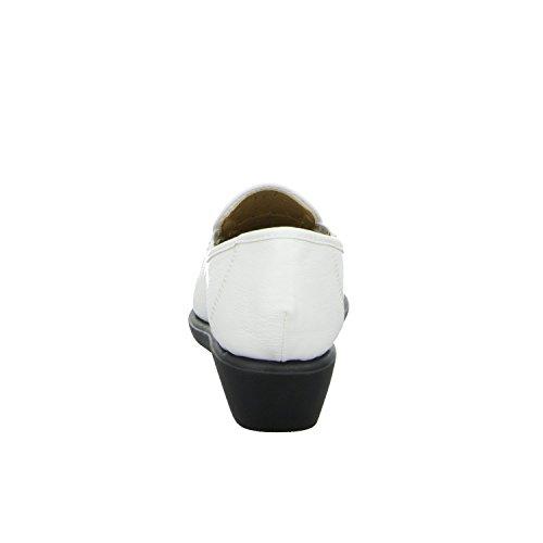 Andares H67318p branco De Senhora Deslizador Trançado Vários Donna Brancas Andrea Halbschuh Perfurado Ou FcW7cUBgv